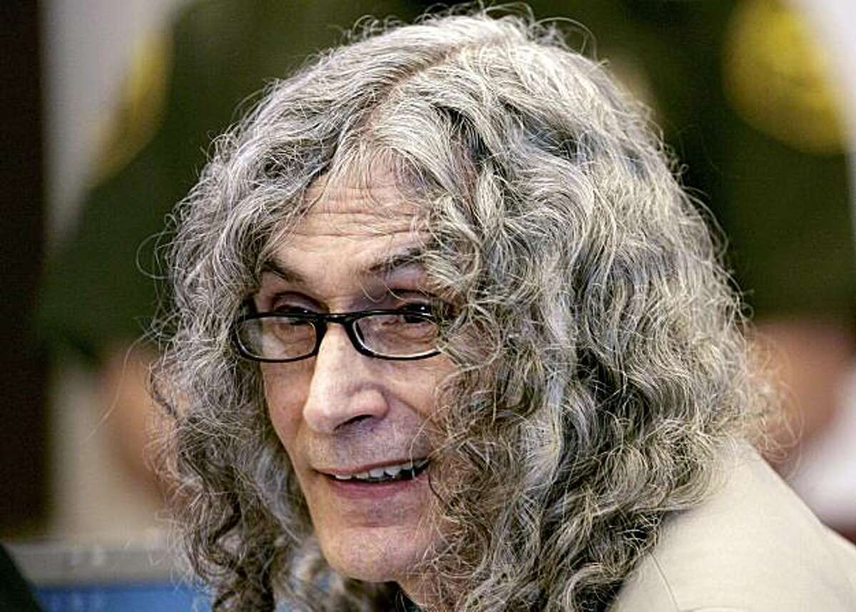FILE - This Jan. 11, 2010 file photo shows Rodney Alcala, a former death row inmate who was twice convicted of the 1979 killing of a 12-year-old Huntington Beach girl, sitting in Orange County Superior Court in Santa Ana, Calif.