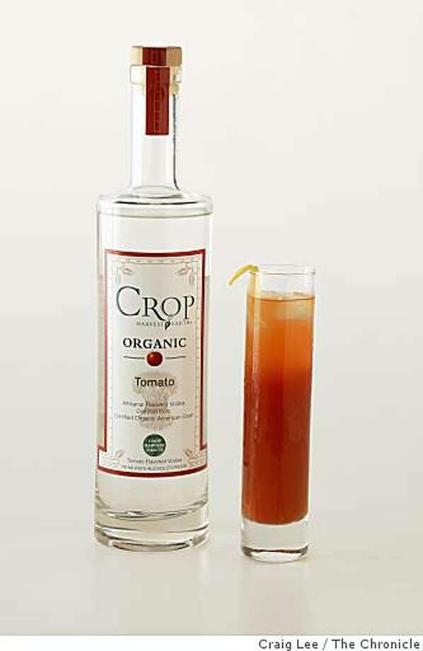 """Red Red Snapper"" cocktail drink with the Crop Organic Tomato Vodka, in San Francisco, Calif., on August 21, 2008. Food styled by Emma Sullivan. Photo: Craig Lee, The Chronicle"