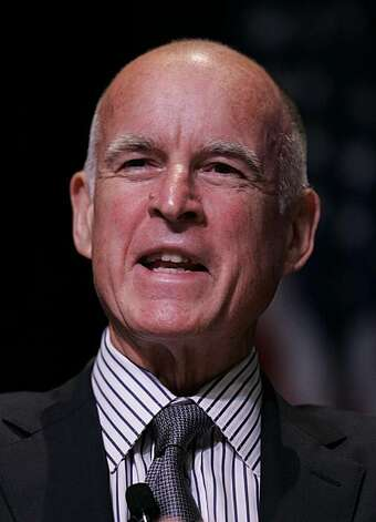 California Attorney General Jerry Brown, who is also running for Governor, smiles during panel discussion at Santa Clara University in Santa Clara, Calif., Wednesday, Sept. 16, 2009. Photo: Paul Sakuma, AP
