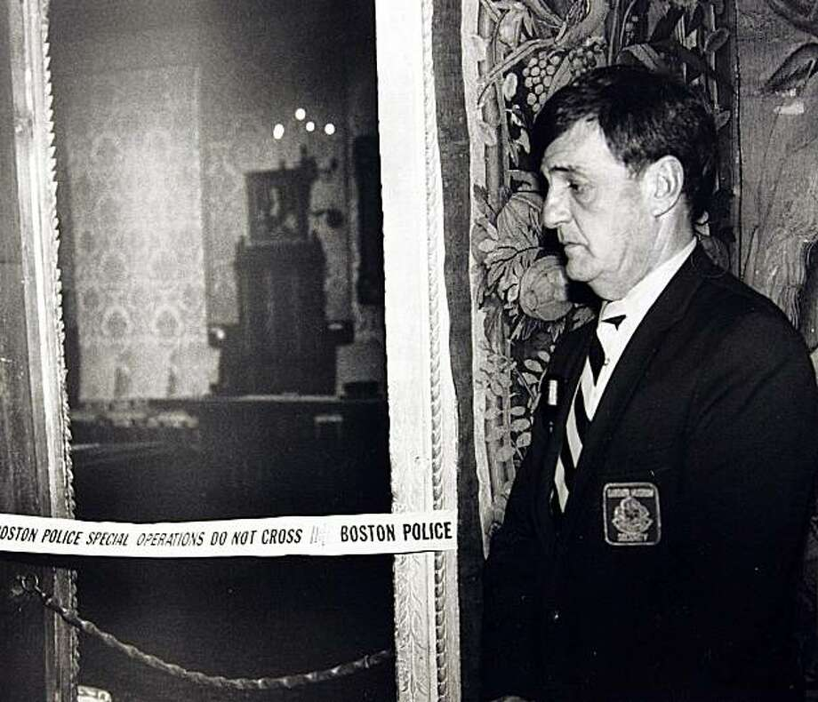 In the early hours of March 18, 1990, two thieves walked into Boston's elegant Isabella Stewart Gardner Museum disguised as police officers and bound and gagged two guards using handcuffs and duct tape. For the next 81 minutes,they sauntered around the ornate galleries, removing masterworks including those by Rembrandt, Vermeer, Degas and Manet, cutting some of the largest pieces from their frames. This is just one of the most expensive art heists in history.Luxury lifestyle site, worthly.com put together a list of the most expensive items ever stolen, and most of them are pieces of art. Take a look at some here and visit worthly.com for the full list.  Photo: AP
