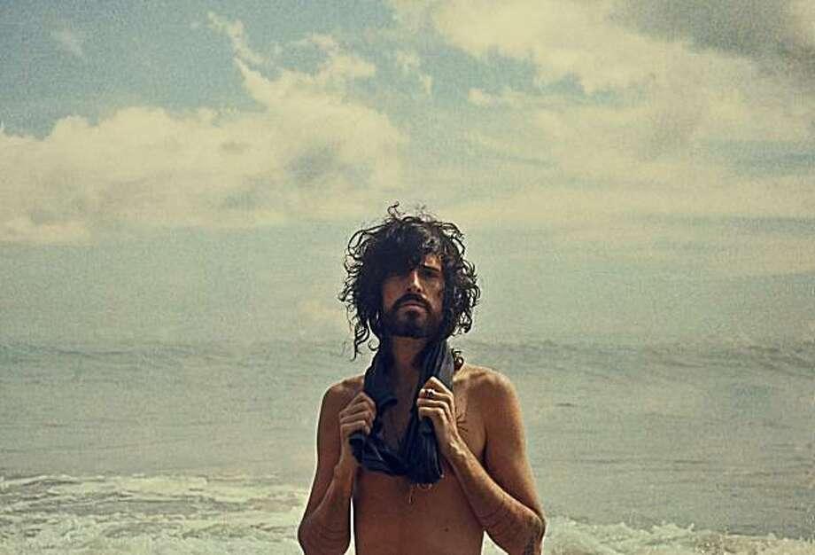 Devendra Banhart, making waves Photo: Neil Krug