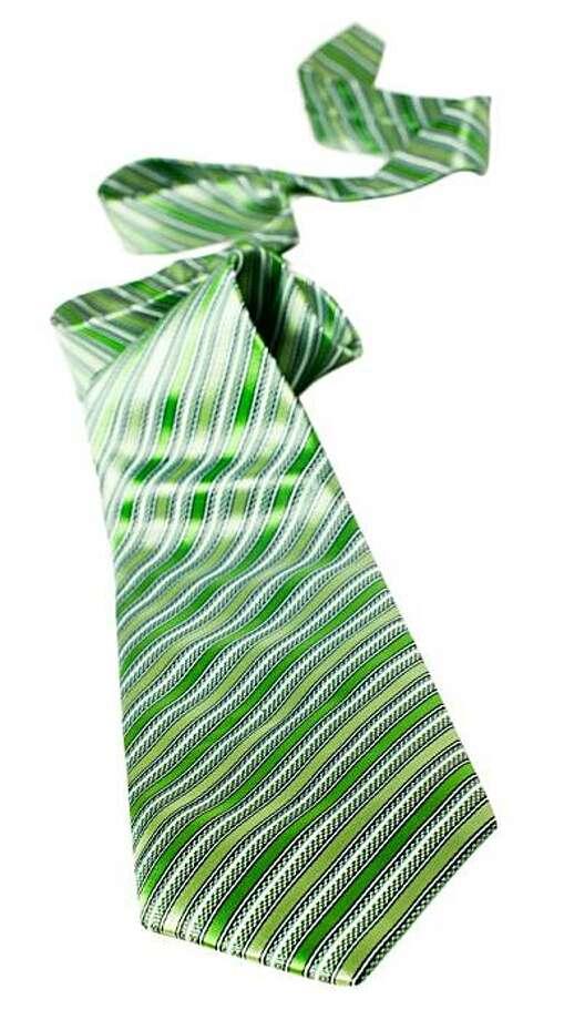 green tie Photo: Istockphoto.com