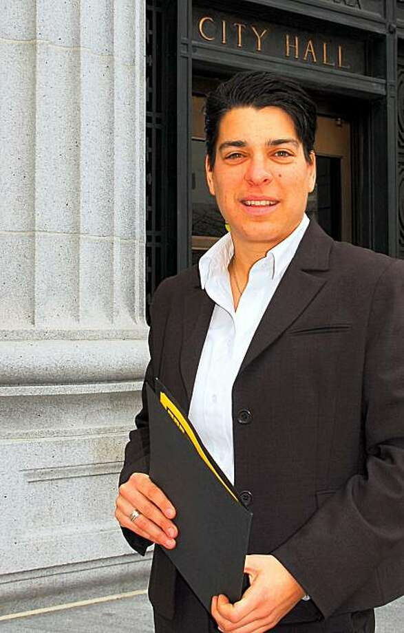 Rebecca Kaplan, candidate for the at-large seat, Oakland City Council, June 3, 2008 state primary Photo: Rebecca Kaplan