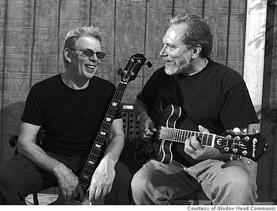 Jack Casady (left) and Jorma Kaukonen (right) of Hot Tuna. Photo: Courtesy Of Glodow Nead Communic