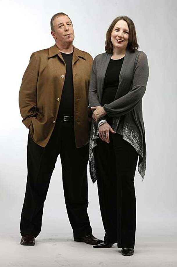 James Bacchi and Annette Schutz, gallerists at ArtHaus, stand for a portrait in the Chronicle Studio on Monday March 08, 2010 in San Francisco, Calif. Photo: Mike Kepka, The Chronicle
