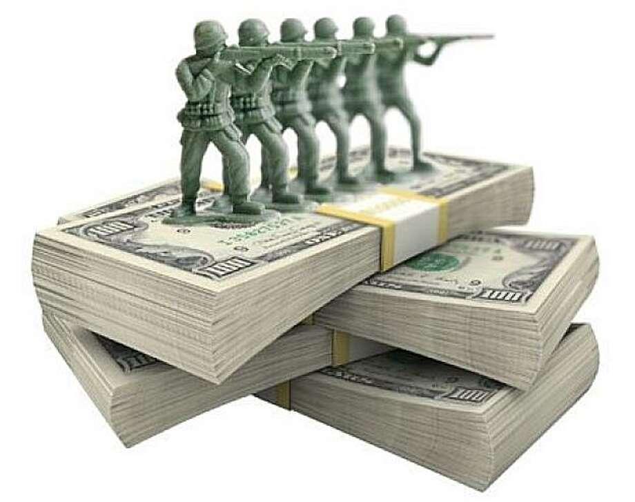 Military spending image Photo: Pulsemedia.org