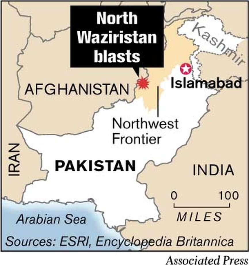 North Waziristan Blasts. (Associated Press)
