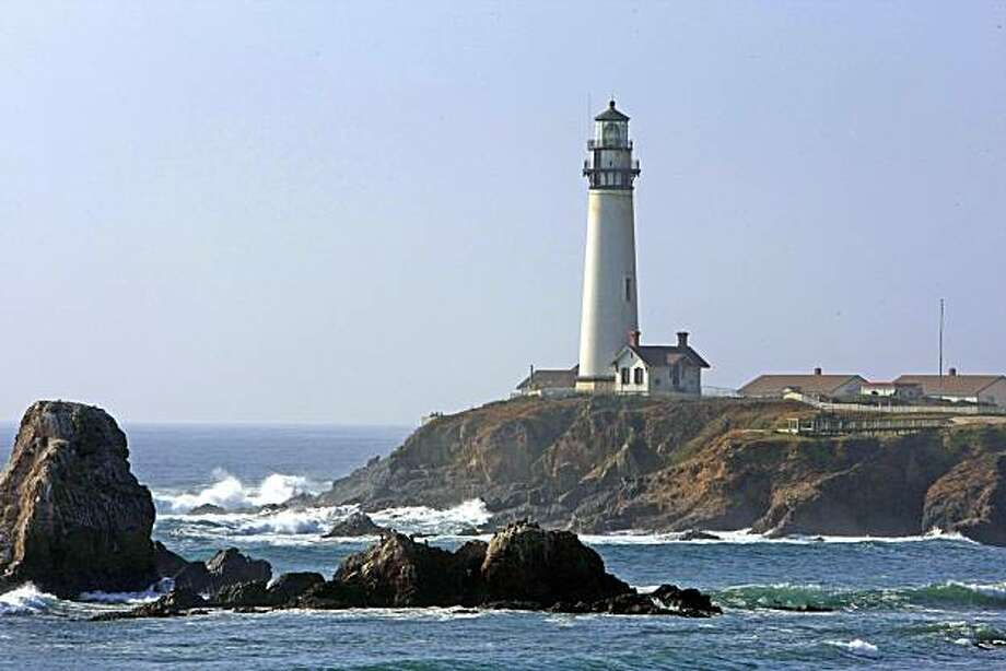 Pigeon Point Lighthouse in Pescaddero Calif., on December 4, 2008 is now one of the oldest lighthouses on the west coast. Photo: Frederic Larson, The Chronicle