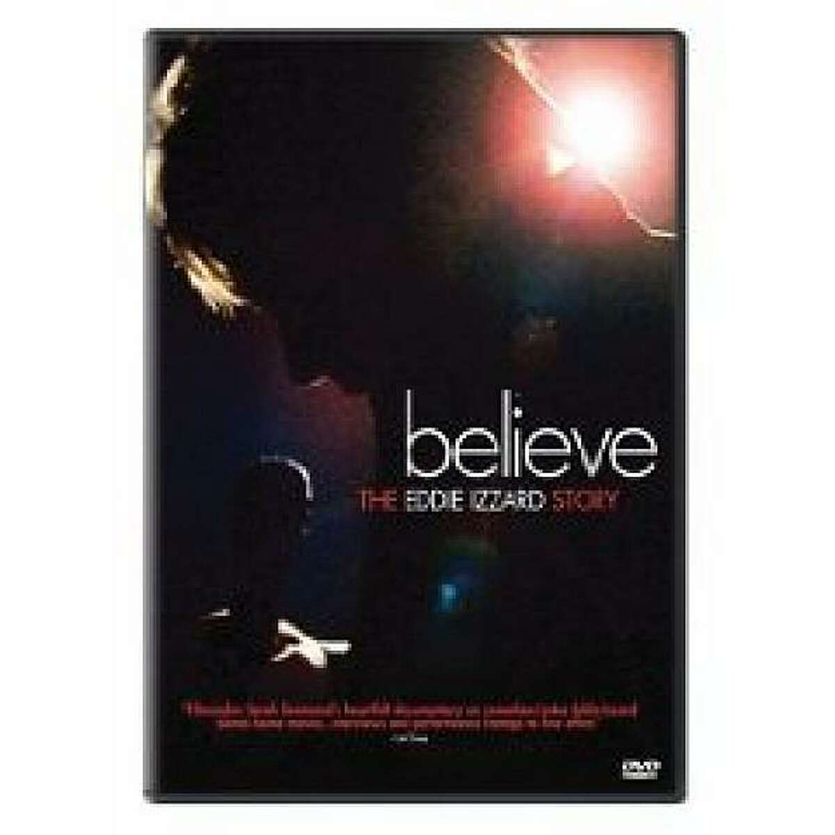 dvd cover BELIEVE: THE EDDIE IZZARD STORY