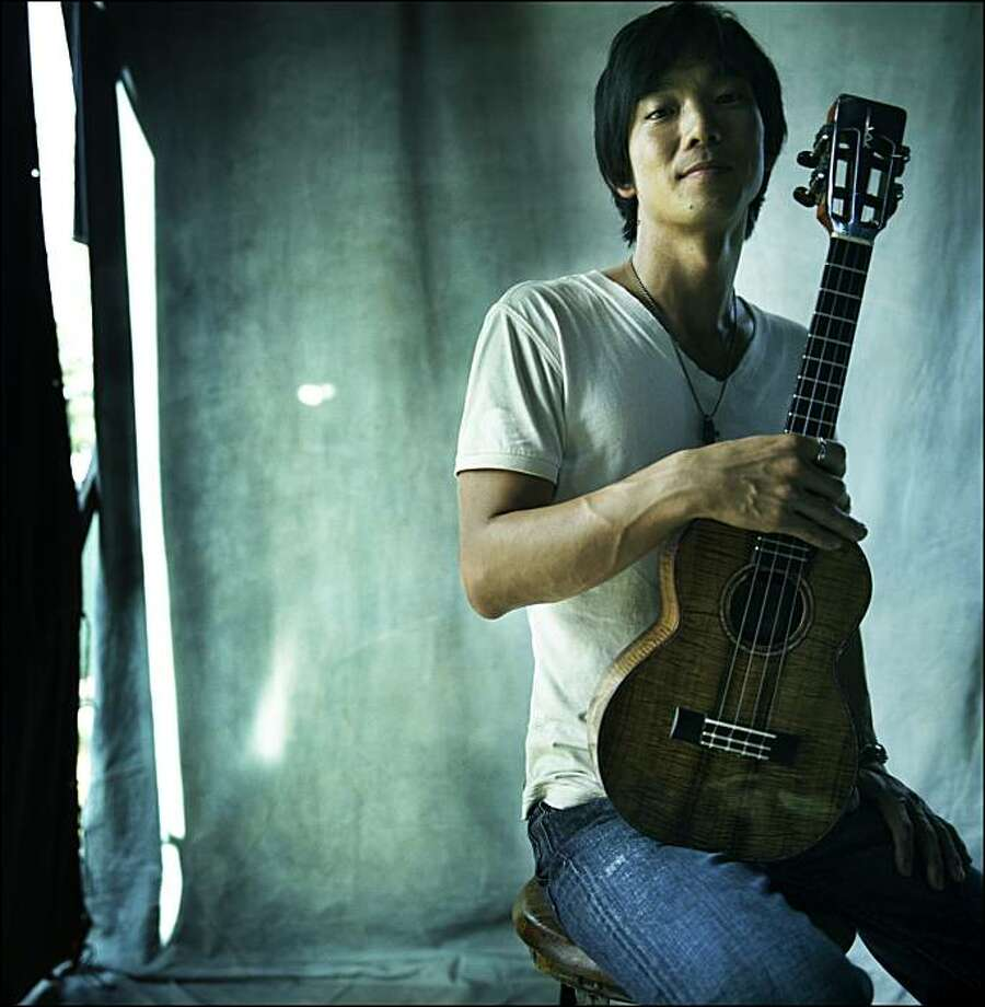 Jake Shimabukuro, sonic uke Photo: Danny Clinch