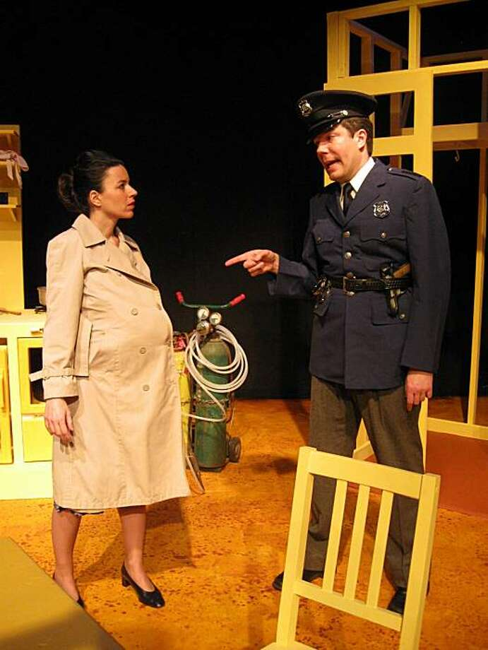 """Beatrice Basso and Matt Weimer in """"We Won't Pay! We Won't Pay!"""" Photo: Jennifer Daly"""