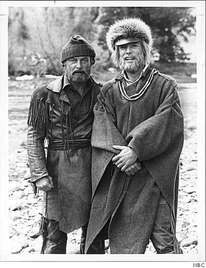 "Date-1978 Robert Conrad (left) and Richard Chamberlain in the 1978 miniseries ""Centennial,"" based on James Michener's epic novel. Photo: NBC"