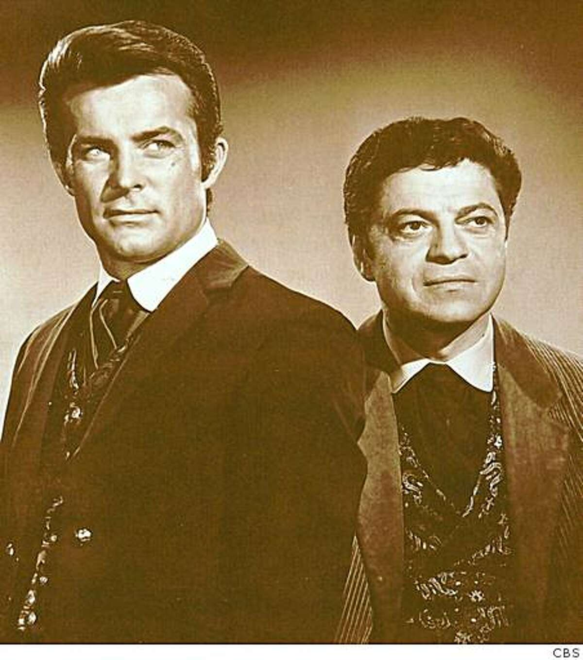 Robert Conrad and Ross Martin in the 1960s series
