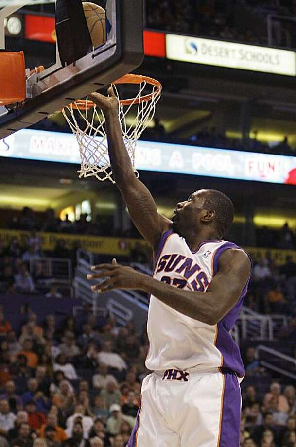 Phoenix Suns' Jason Richardson scores against the Minnesota Timberwolves in the second quarter of an NBA basketball game Tuesday, March 16, 2010, in Phoenix.  The Suns defeated the Timberwolves 152-114. Photo: Ross D. Franklin, AP