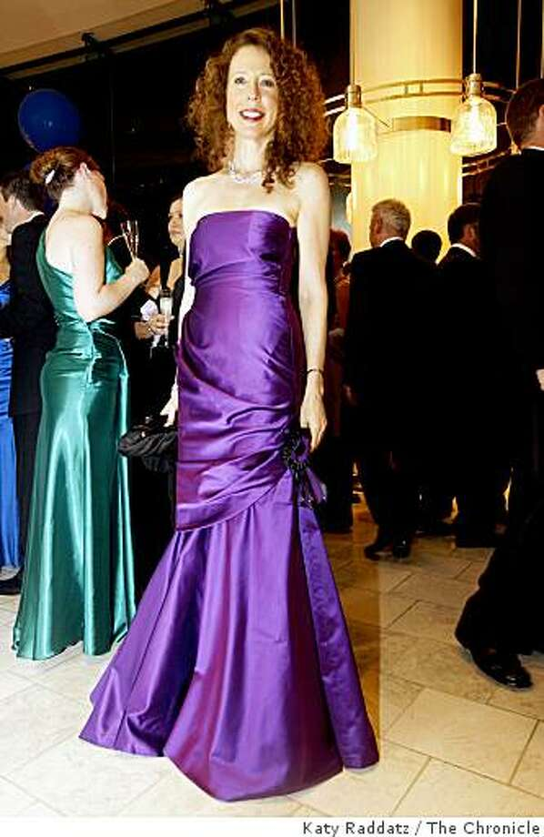 Carole Shattil in Ralph Lauren couture gown at the opening gala for the San Francisco Symphony, in San Francisco, Calif. on Wednesday, Sept. 3, 2008. Photo: Katy Raddatz, The Chronicle