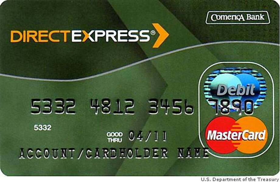 This new prepaid debit card will be an option for Social Security recipients who no longer wish to receive their monthly checks in the mail or deposited into their banks. Photo: U.S. Department Of The Treasury, Courtesy To The Chronicle