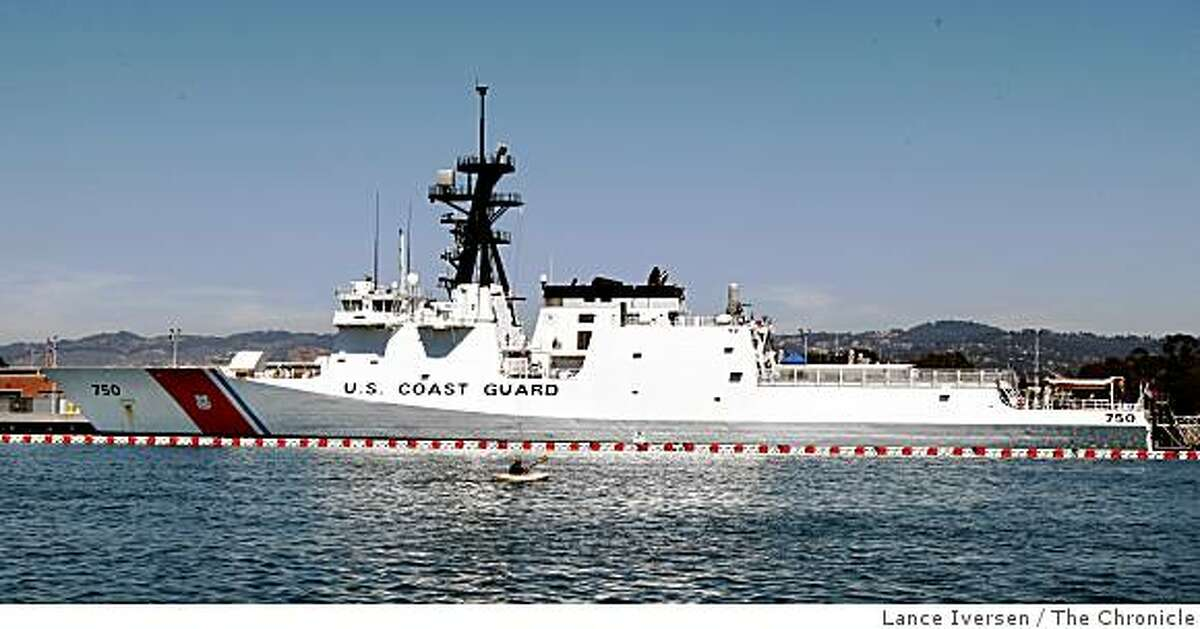 The coast guard's newest, fastest, cutter is the Bertholf. Based in Alameda, the ship is the first of a series of National Defense class cutters. Photographed Wednesday, August 27, 2008, in Alameda, Calif.