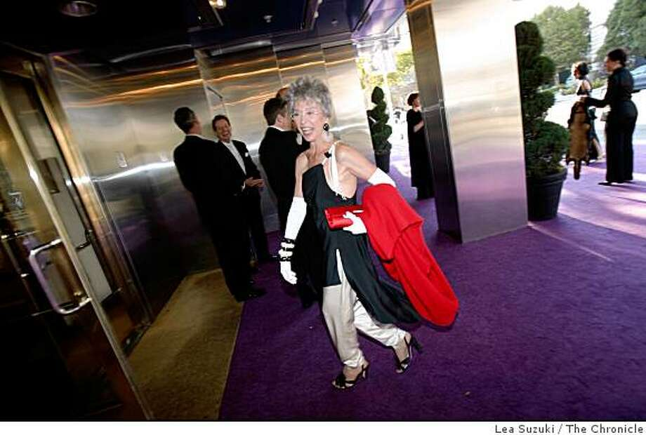 Rita Moreno arrives at Davies Symphony Hall for the Symphony gala opening on Wednesday September 3, 2008 in San Francisco, Calif. Photo: Lea Suzuki, The Chronicle