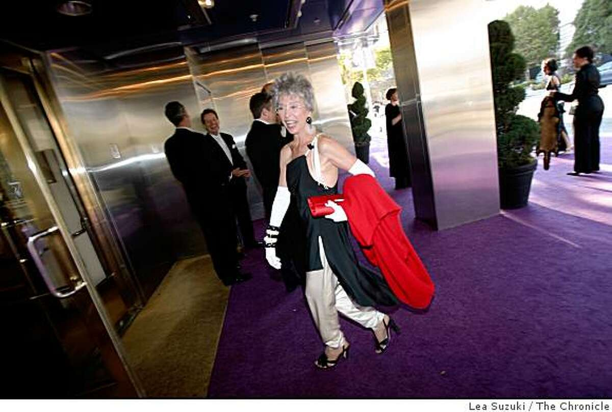 Rita Moreno arrives at Davies Symphony Hall for the Symphony gala opening on Wednesday September 3, 2008 in San Francisco, Calif.