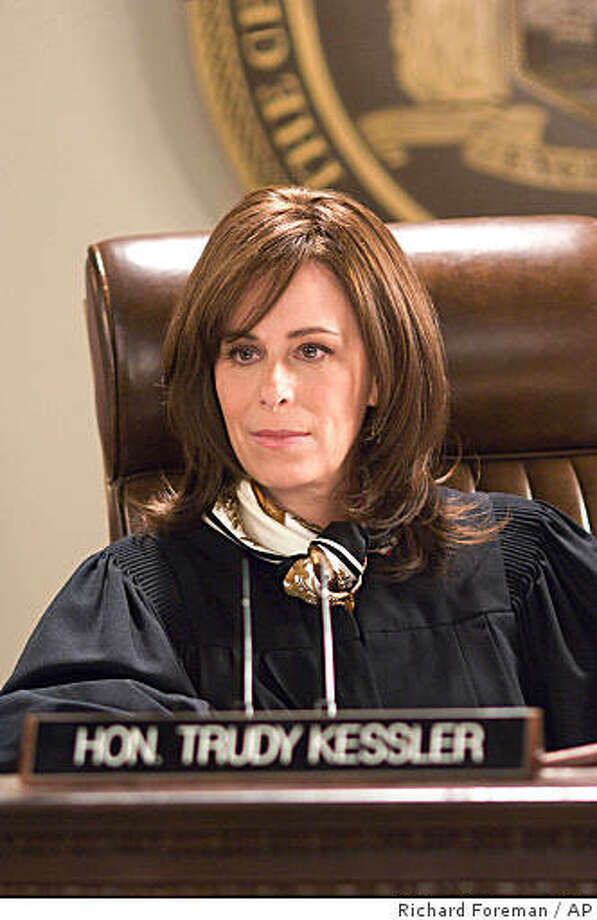 "In this image released by TNT, Jane Kaczmarek portrays judge Trudy Kessler in the legal drama, ""Raising the Bar,"" premiering Sept 1, at 10:00 p.m. EDT on TNT. (AP Photo/TNT, Richard Foreman) ** NO SALES ** Photo: Richard Foreman, AP"