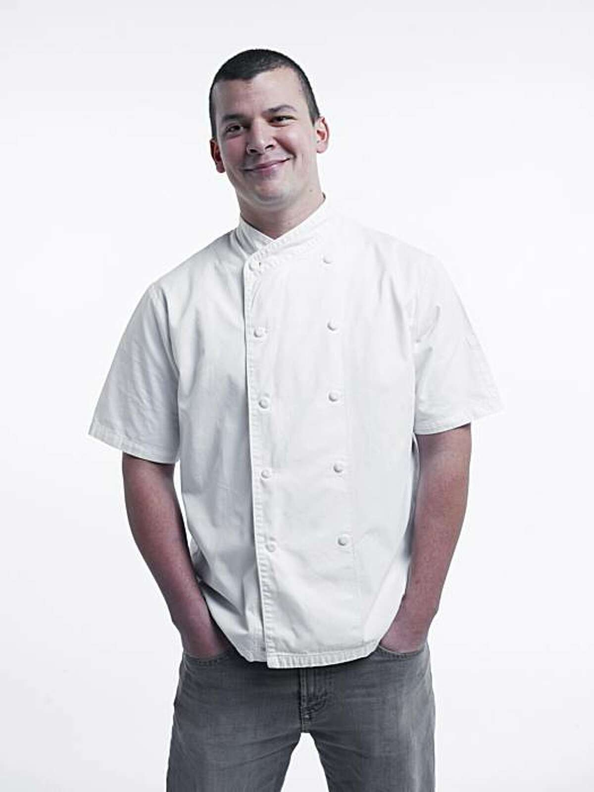 RISINGSTARS_CARMONA18_JOHNLEEPICTURES.JPG John Paul Carmona, chef at Manresa in Los Gatos. Photo taken in the Chronicle photo studio. By JOHN LEE/SPECIAL TO THE CHRONICLE