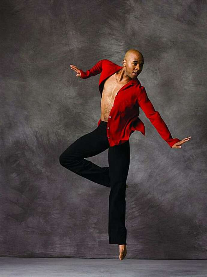 Matthew Rushing, Alvin Ailey Dance Co Photo: Andrew Eccles