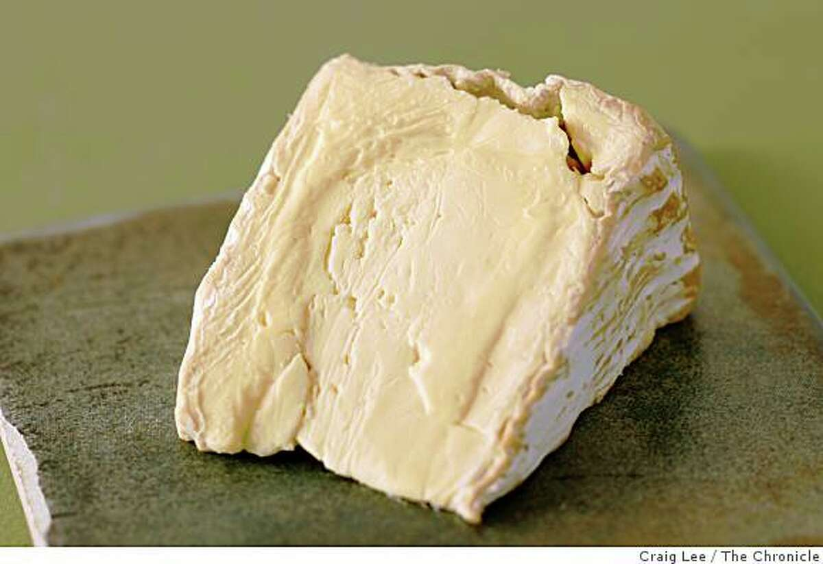 Delice de Bourgogne cheese, in San Francisco, Calif., on August 21, 2008. Food styled by Emma Sullivan.