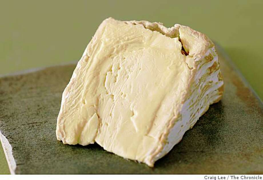 Delice de Bourgogne cheese, in San Francisco, Calif., on August 21, 2008. Food styled by Emma Sullivan. Photo: Craig Lee, The Chronicle