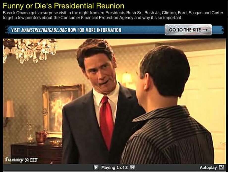 screengrab from funnyordie.com Photo: Courtesy, Www.funnyordie.com