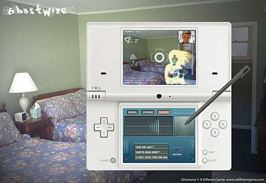 screenshot of Ghostwire by A Different Game. Photo: Courtesy, Differentgame.org