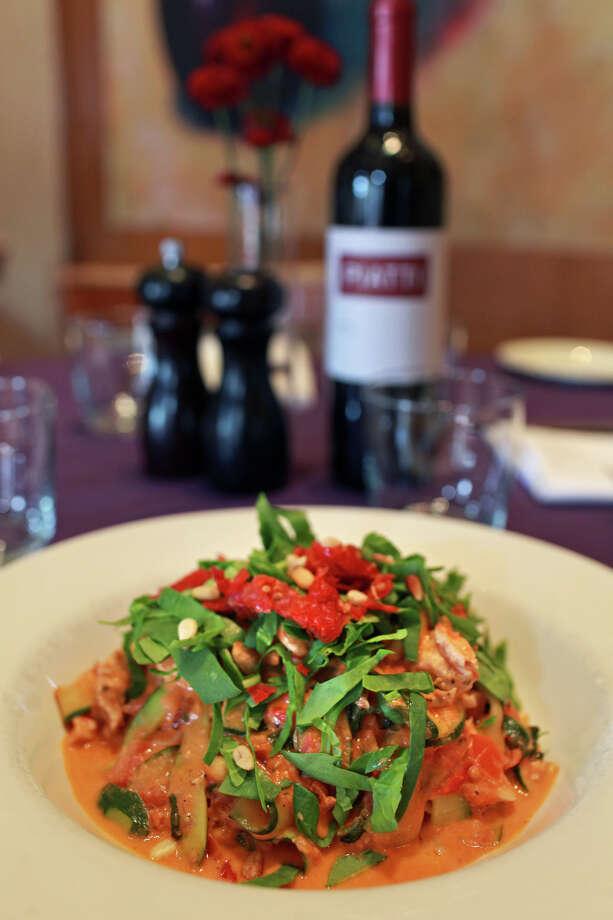 Piatti Italian Restaurant,255 E. Basse, 210-832-0300, will be open 11 a.m.-10 p.m. Mothers will receive a gift while supplies last. Photo: Lisa Krantz, San Antonio Express-News / @2012 SAN ANTONIO EXPRESS-NEWS