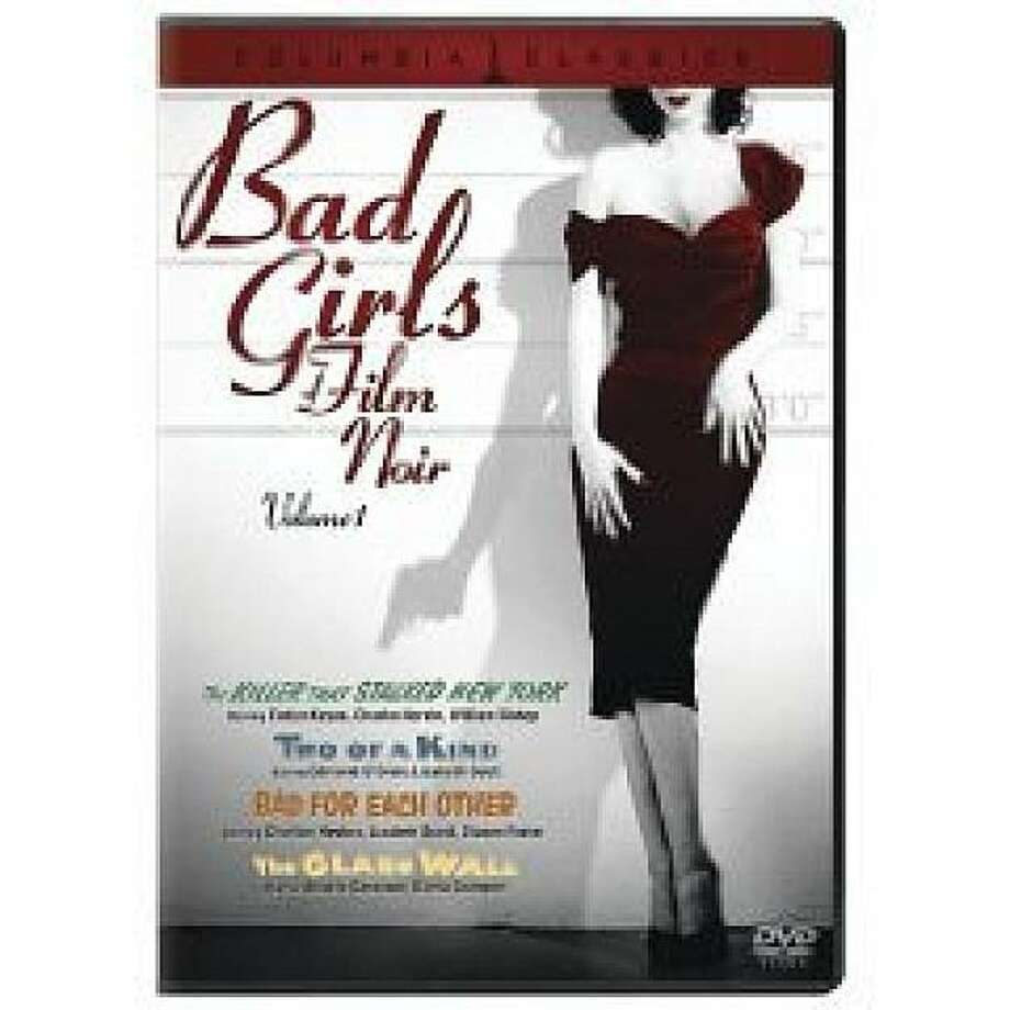 dvd cover BAD GIRLS OF FILM NOIR Photo: Amazon.com