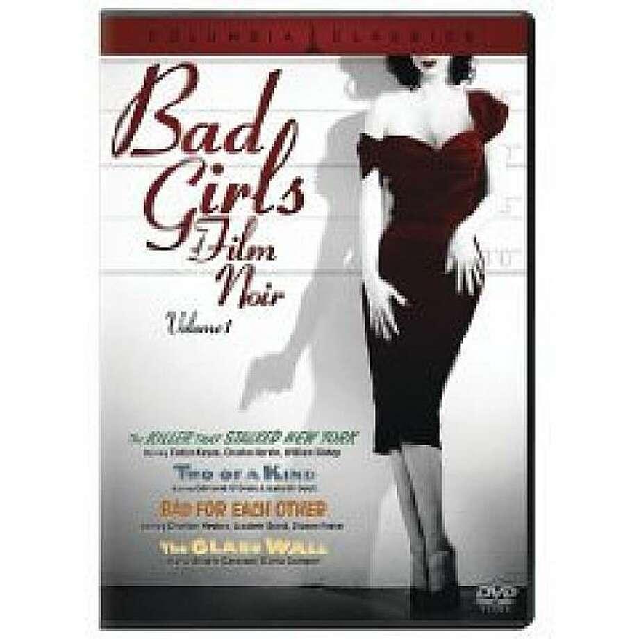 dvd cover BAD GIRLS OF FILM NOIR Photo: Amazon.com