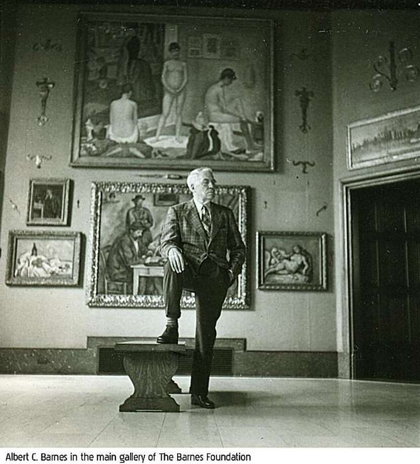 Albert Barnes inside the main gallery of The Barnes Foundation Photo: An IFC Films Release
