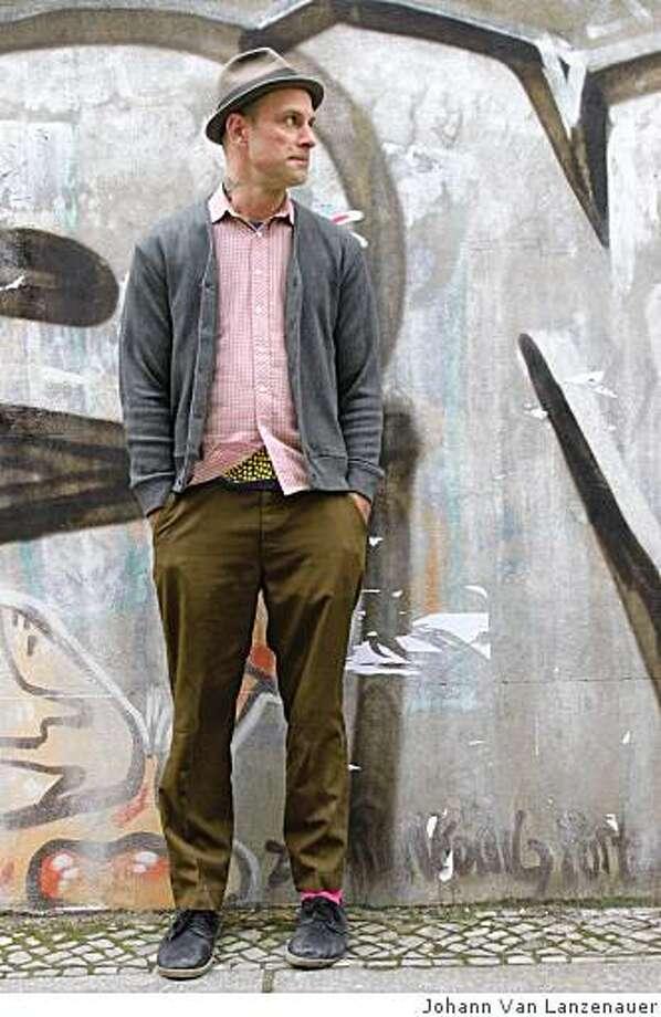 "Aaron Rose, director of the film ""Beautiful Loesrs."" 2008 Photo: Johann Van Lanzenauer"
