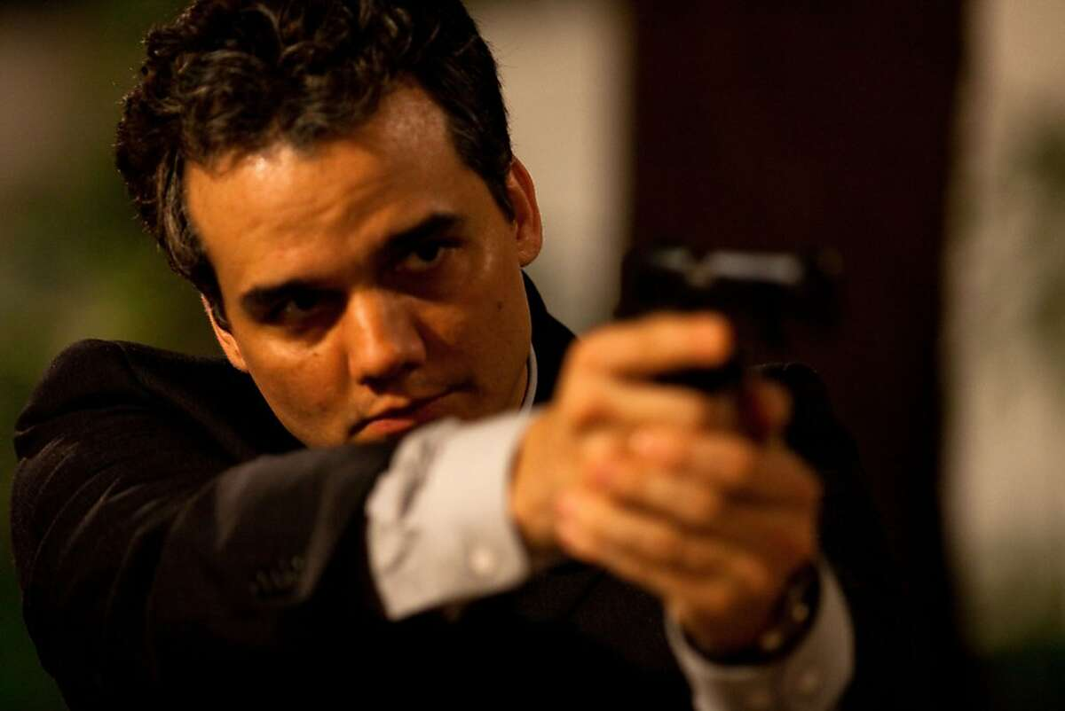 """Captain Nascimento (Wagner Moura) in Jose Padilha's """"Elite Squad -- The Enemy Within,"""" a 2010 Brazilian film."""
