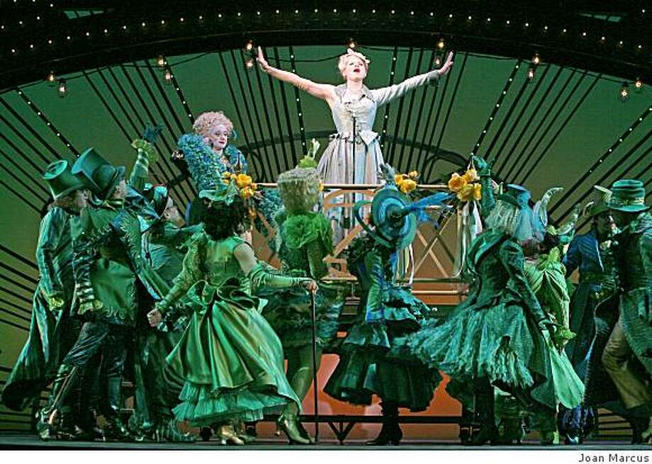 """A scene the Los Angeles production of """"Wicked,"""" which is coming to San Francisco in the next Best of Broadway season. Photo: Joan Marcus"""