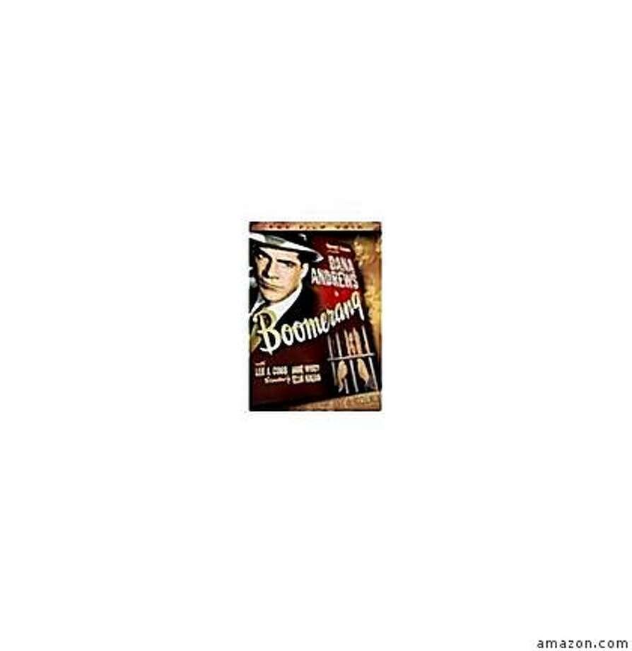 dvd cover BOOMERANG (1947) Photo: Amazon.com