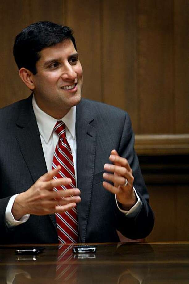Vivek Kundra, the Federal Chief Information Officer (CIO) of the United States of America, in San Francisco, Calif. Wednesday March 3, 2010. Photo: Jana Asenbrennerova, The Chronicle
