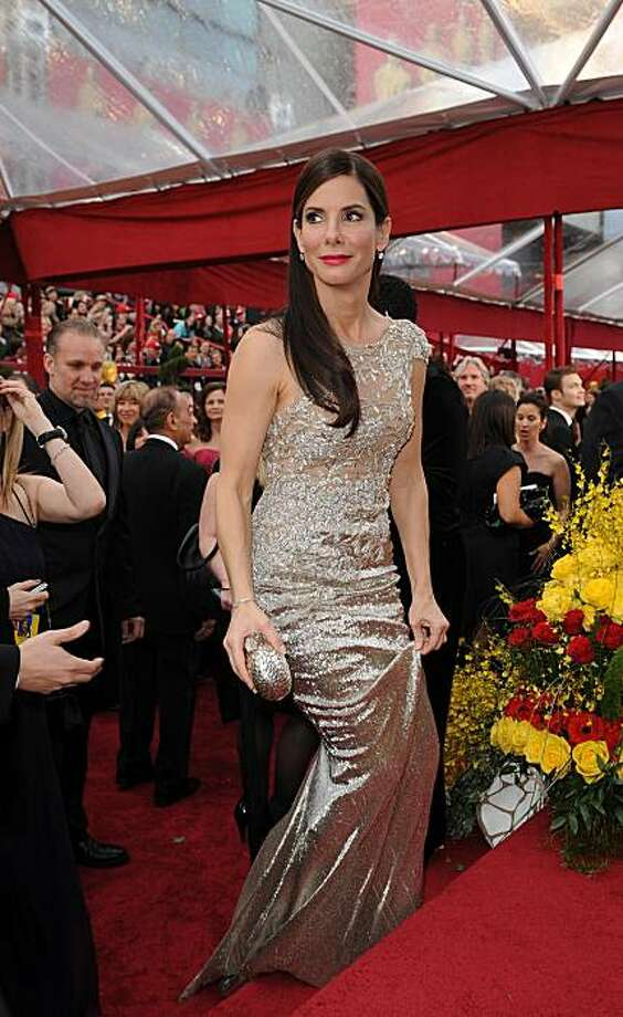 Actress Sandra Bullock arrives at the 82nd Academy Awards at the Kodak Theater in Hollywood, California on March 07, 2010. Bullock is nominated for Best Actress Photo: Robyn Beck, AFP/Getty Images