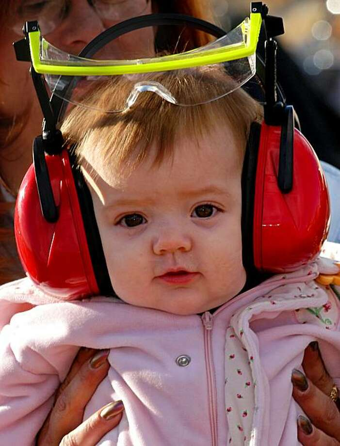 Loud noises pose hearing-loss risk to kids - SFGate