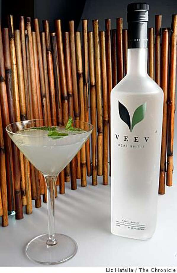 VeeV liquor which is made of acai berries in San Francisco, Calif., on Thursday, August 7, 2008. Photo: Liz Hafalia, The Chronicle