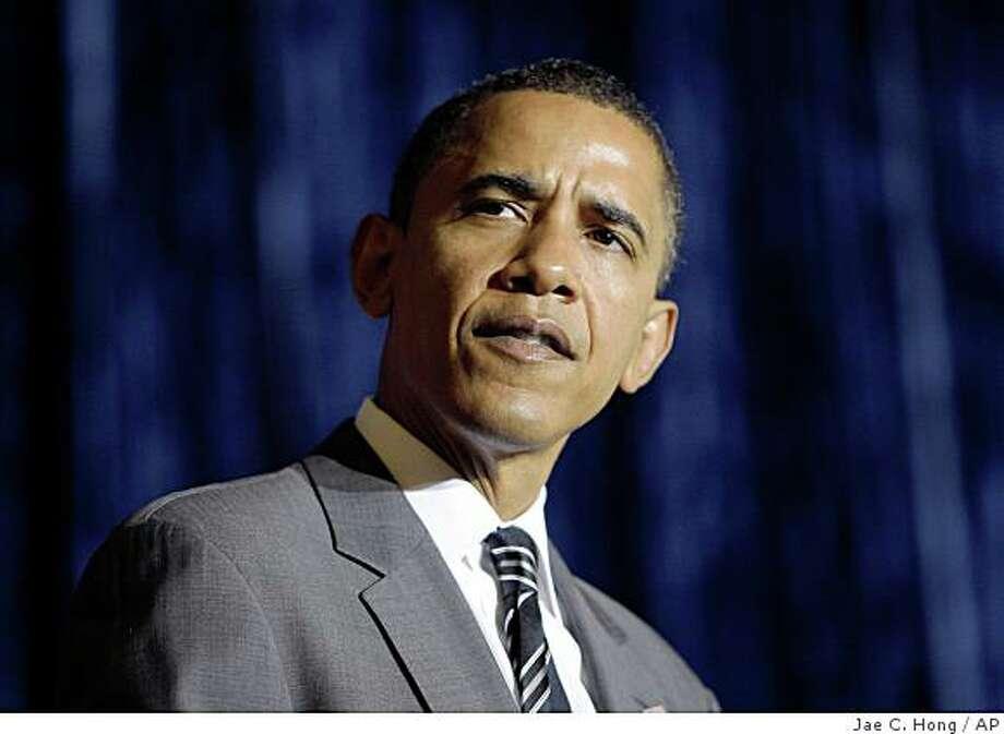Democratic presidential candidate, Sen. Barack Obama. Photo: Jae C. Hong, AP
