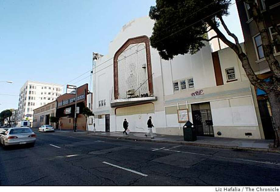 The former Harding Theater in San Francisco, Calif. The popular San Francisco vaudeville-era venue fell into disrepair and has been vacant for 26 years. It'll hold an arcade bar now. Photo: Liz Hafalia, The Chronicle