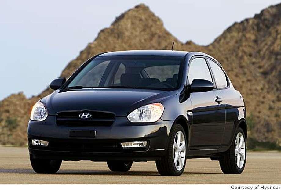 2009 Hyundai Accent SE 3-Door Photo: Courtesy Of Hyundai