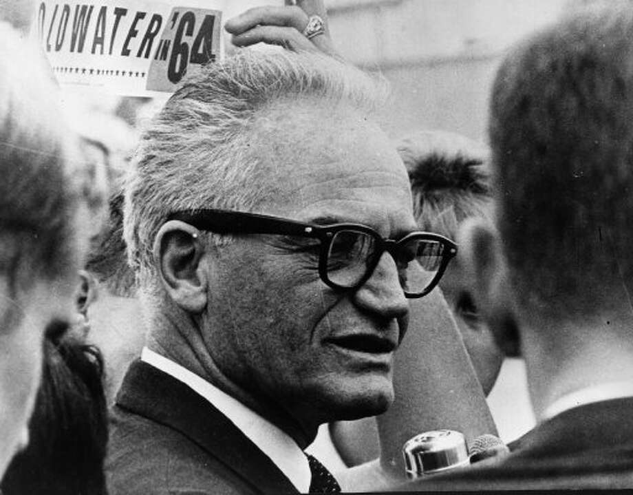 Sen. Barry Goldwater went to the White House and told President Nixon it was time for him to go.  (Getty Images)