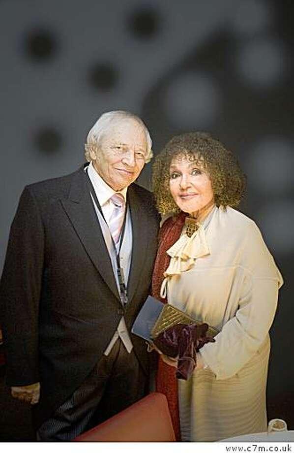 John Dankworth and Cleo Laine. Photo: Www.c7m.co.uk