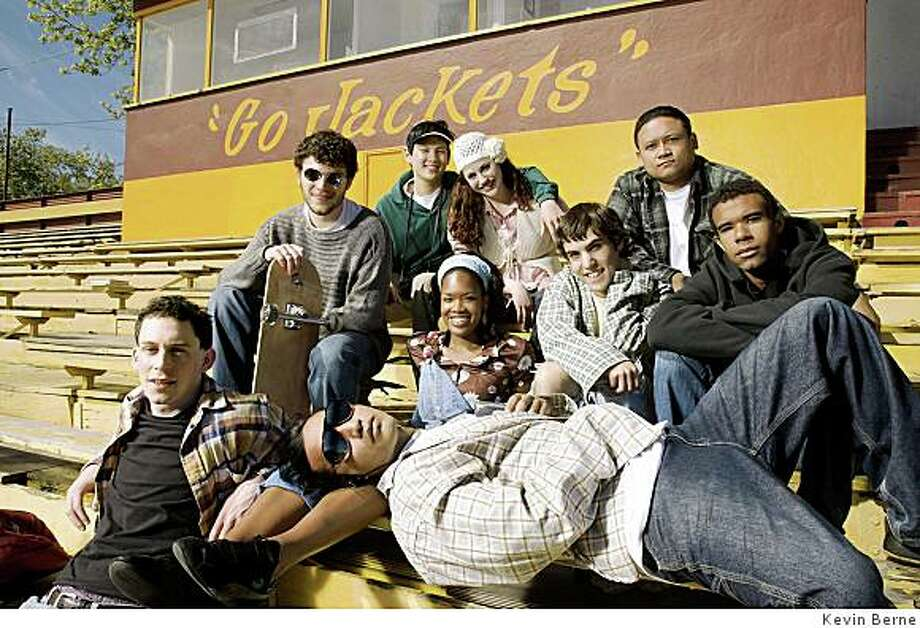 The world premiere of Yellowjackets, which is written by a Berkeley native and set at Berkeley High School, features a cast comprised entirely of young, local actors.Photographer:Kevin Berne Photo: Kevin Berne
