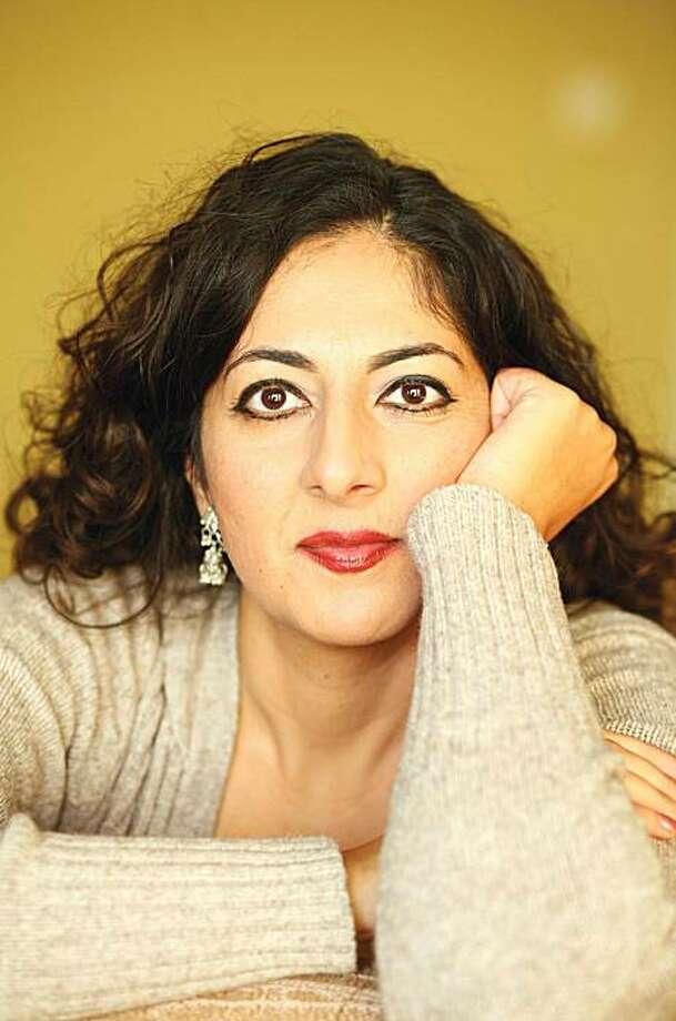 """Nafisa Haji, author of """"The Writing on My Forehead."""" Photo: Robert Stewart"""