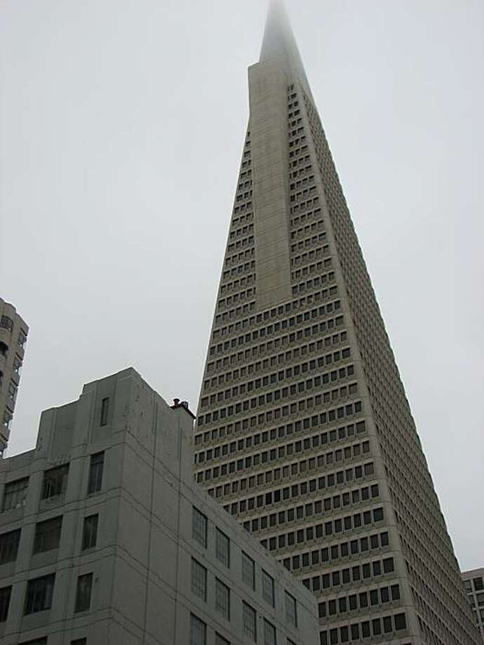 The Transamerica Pyramid, designed by William Pereira, pops up in all sorts of locations. Photo: John King, The Chronicle